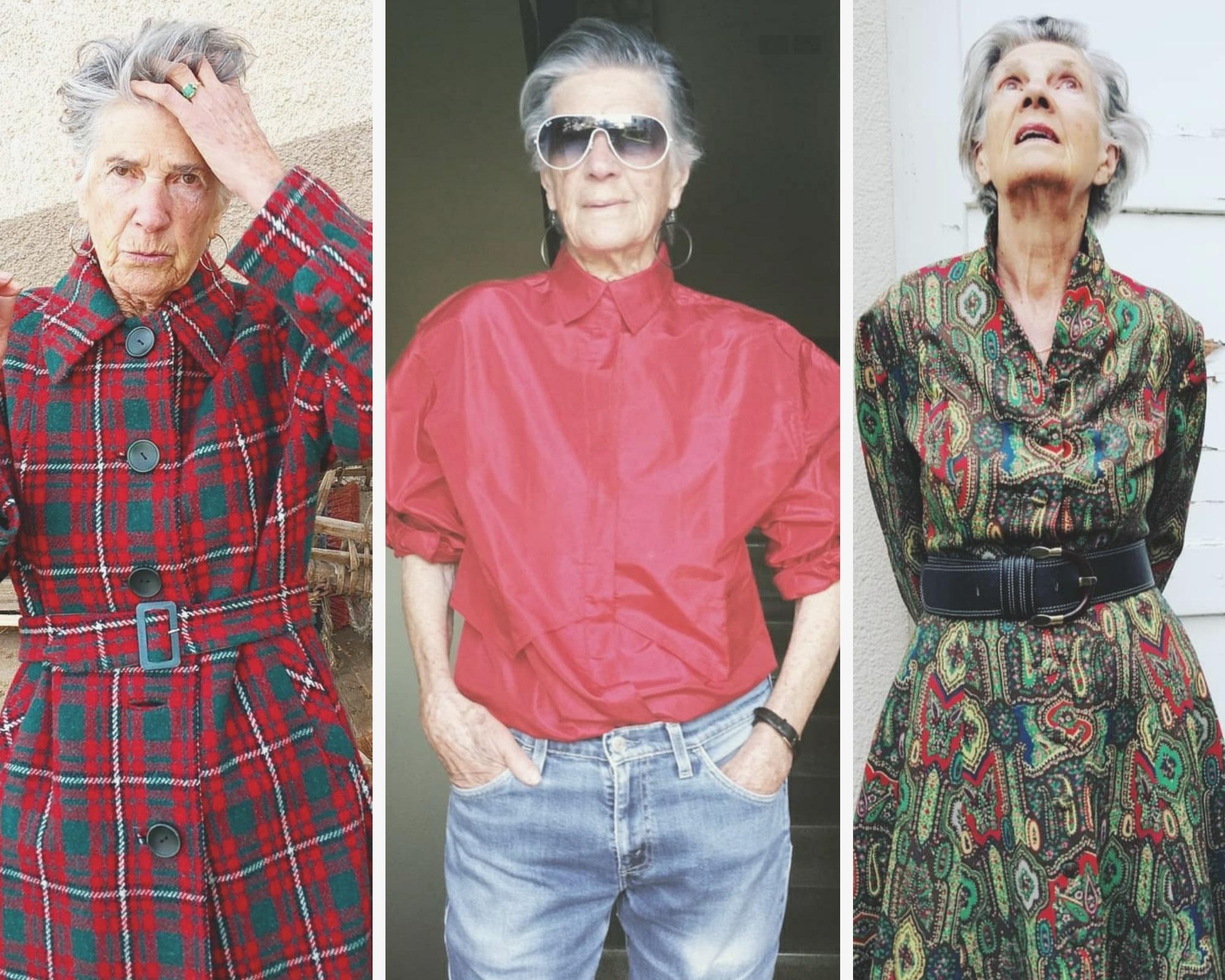 A stílus nem kor kérdése – a 90 éves Teresa az Instan inspirál évtizedes ruháival