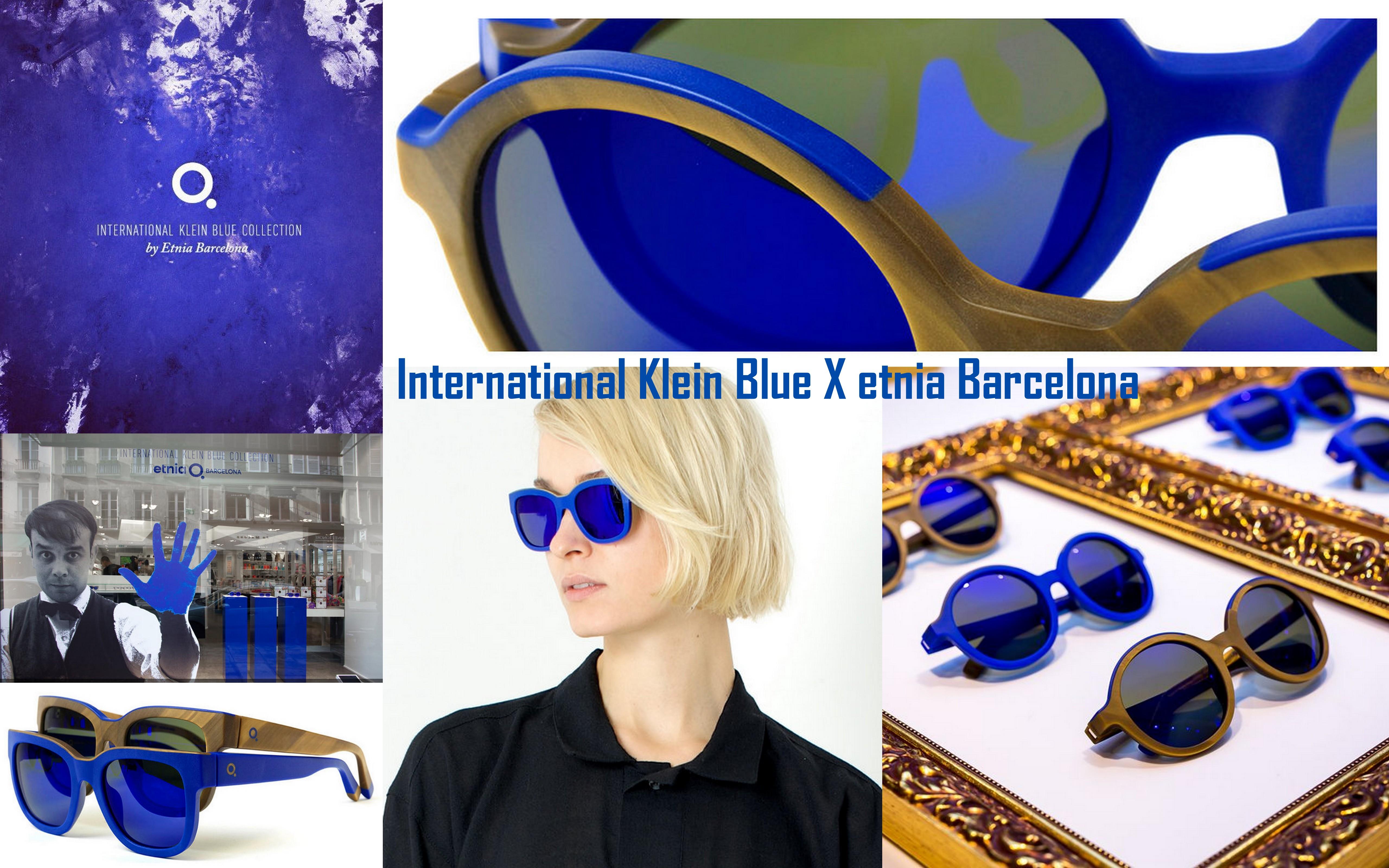 Yves Klein kékje szemüvegben él tovább