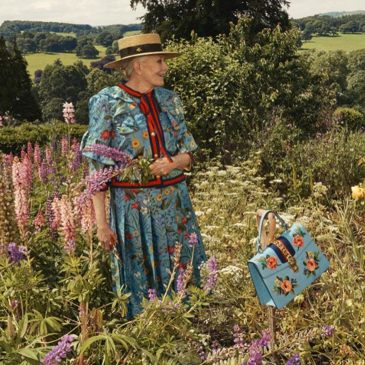 #40felett: A 79 éves Vanessa Redgrave a Gucci új kampányában