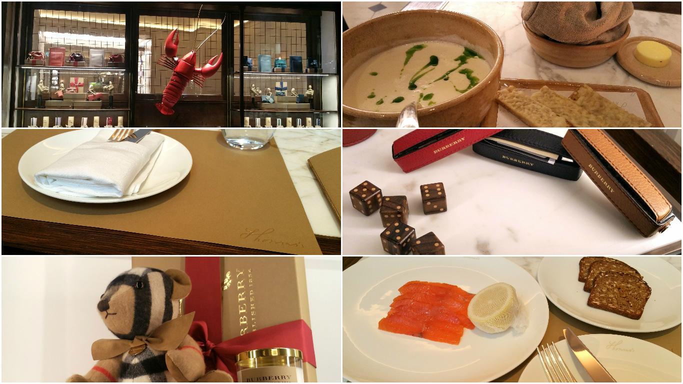 Thomas – étterem a luxusüzletben