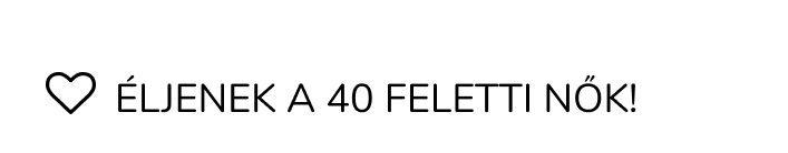 40 felett blog