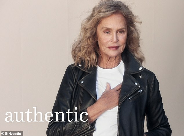 A 75 éves Lauren Hutton anti aging márka arca lett
