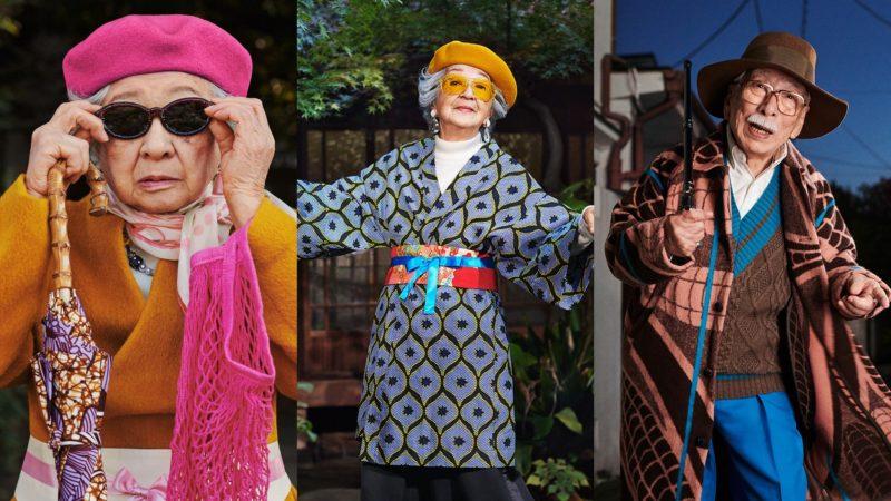 Kortalan modellkedés: japán almaecetet reklámoznak a 90 évesek