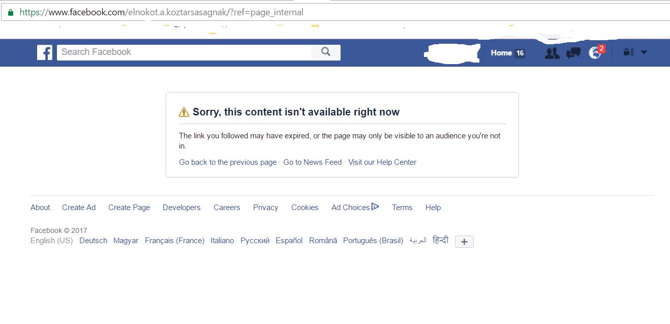 Pitiáner trollkodás: lelőtték a Majtényit jelölő csoport Facebook-oldalát