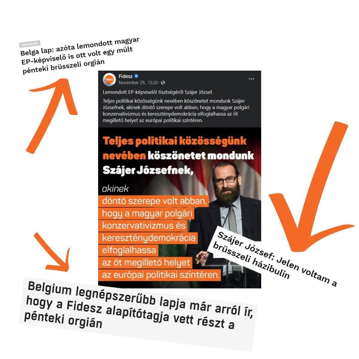 Szájer a mémsztár. Igen jó a sajtója. A Fideszen röhög a világ