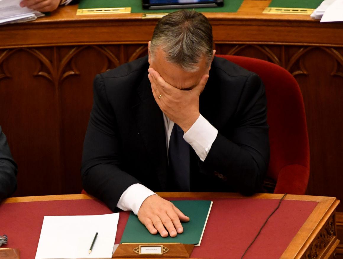 Brüsszelben elkezdődik az eljárás az Orbán-rezsim ellen