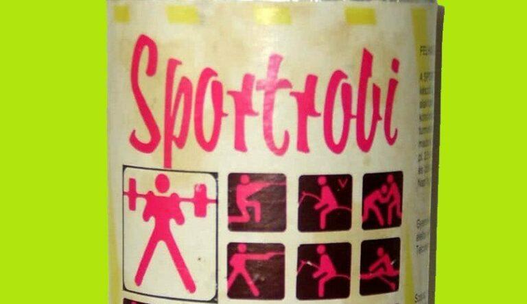 Sportrobi, a retro gyúrós cucc