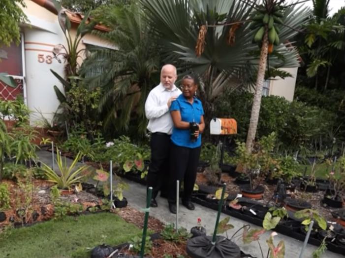 A házaspár, aki a bíróságig ment a kis kertjéért