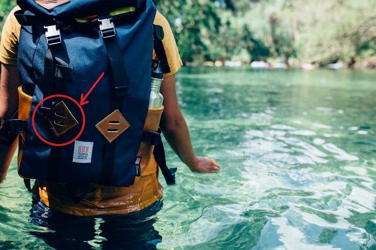Te tudod, mi ez a bőrdarab hátizsákodon?