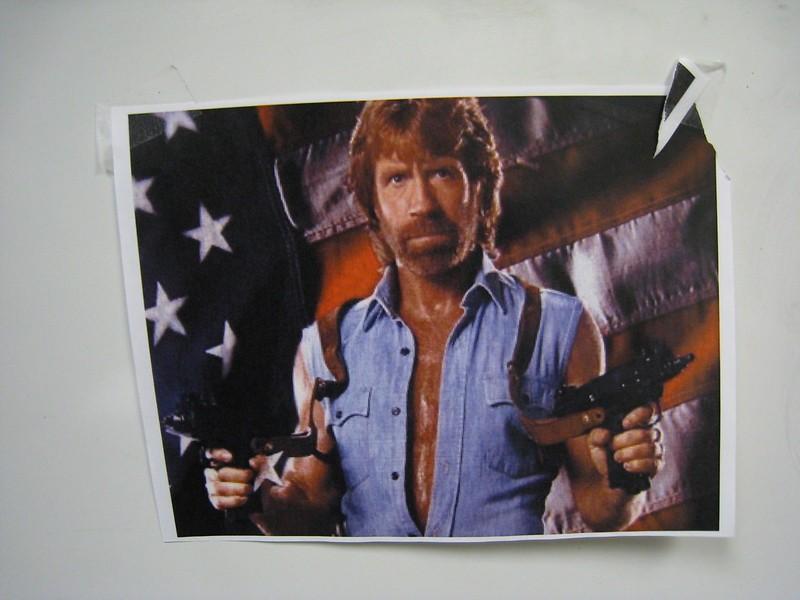 Tény: Chuck Norris sosem futott még UB-t!