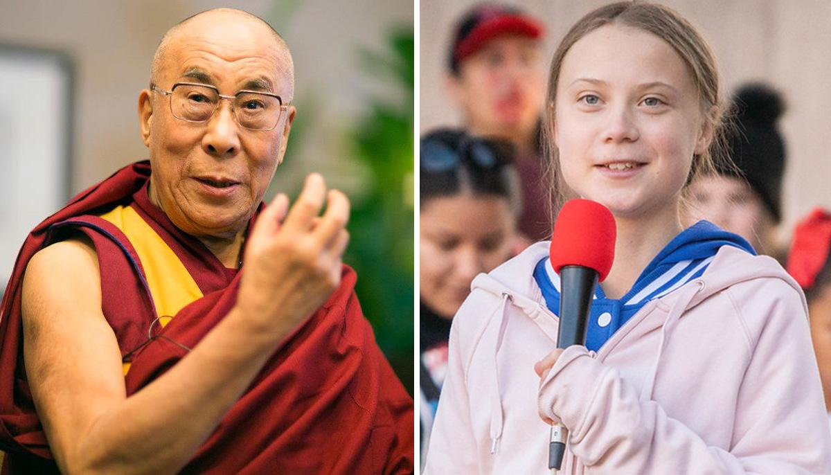 A Dalai Láma Greta Thunberggel a klímaválságról beszélgetett