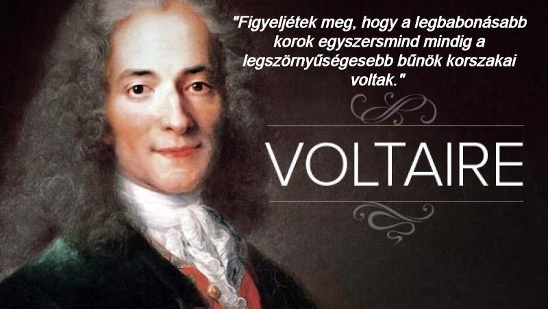 Voltaire a babonaságról