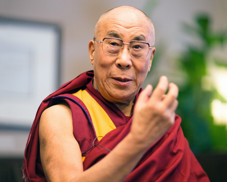 A Dalai Láma szerint a koronavírus idején együttérzésre van szükségünk