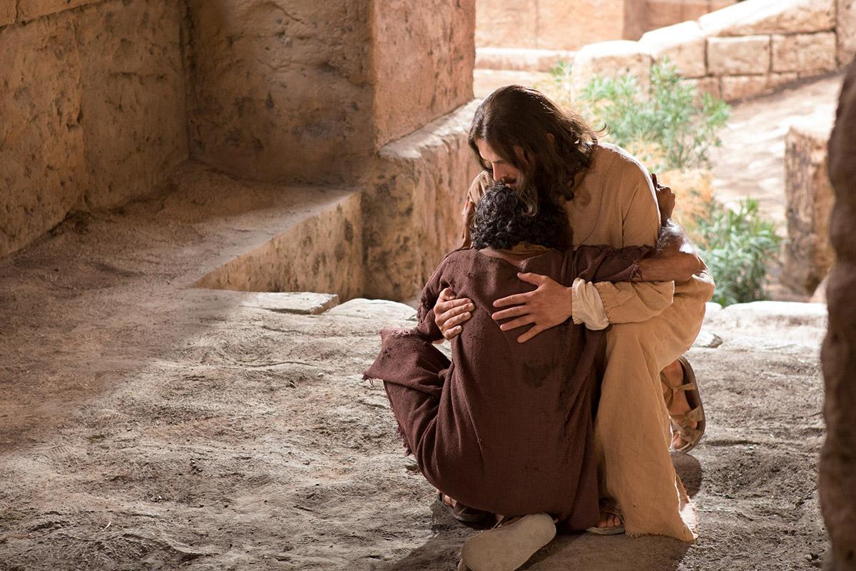 Jézus és a tíz leprás meggyógyítása