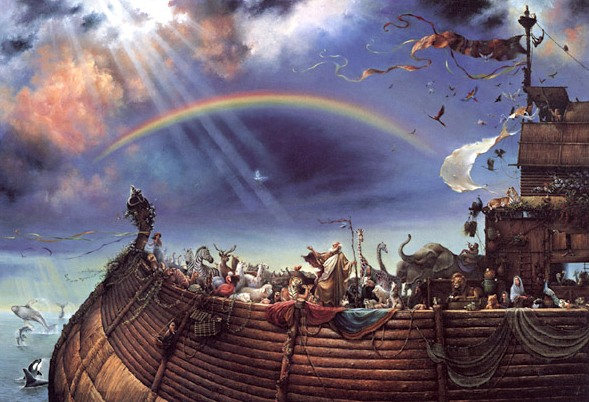 """Noé és a """"szivárványos propaganda"""""""