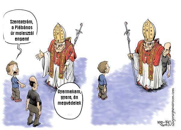 Egyházi bejelentő vonal?