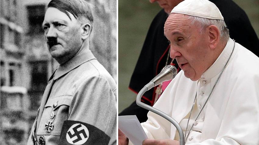 Ferenc pápa Hitler beszédeihez hasonlítja napjaink politikai megnyilvánulásait