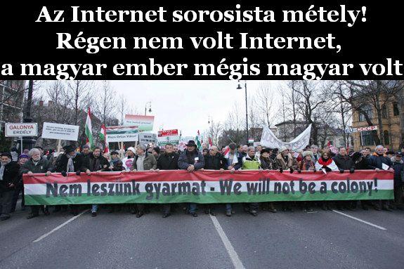 Le az Internettel, sorosista métely!