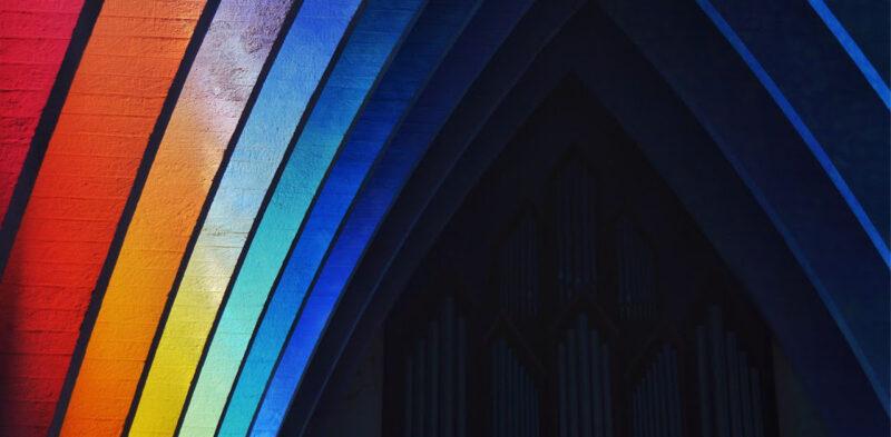 Isteni erőmű: A színes modern templom
