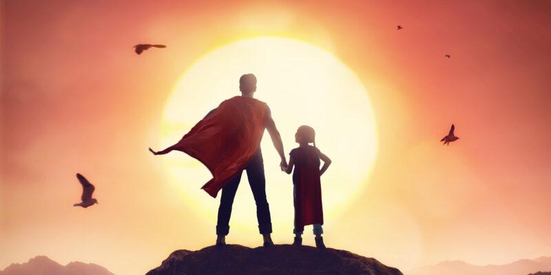 Csenge első története… avagy Apa, a hős