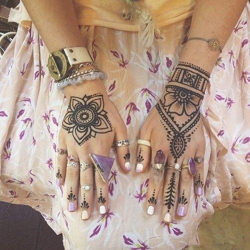 Hennafestés – a legszebb minták