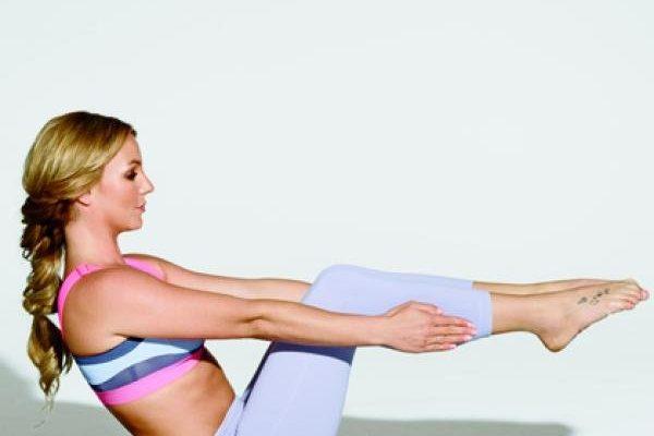 Britney Spears és a jóga